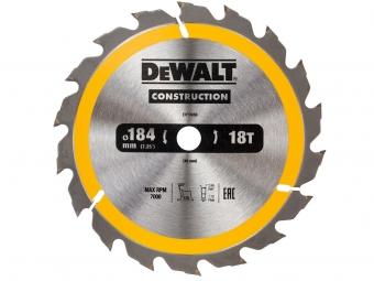 DeWALT DT1938 piła tarczowa do drewna 184mm/18z/16mm