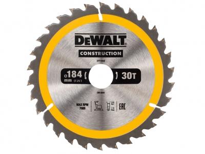 DeWALT DT1942 piła tarczowa do drewna 184mm/30z/30mm