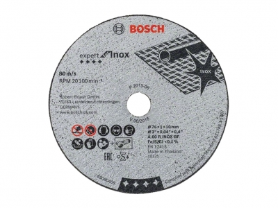 BOSCH tarcza korundowa metalu 76mm do GWS 12V-76