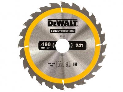 DeWALT DT1944 piła tarczowa do drewna 190mm/24z/30mm
