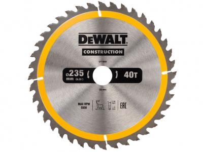 DeWALT DT1955 piła tarczowa do drewna 235mm/40z/30mm