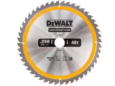 DeWALT DT1957 piła tarczowa do drewna 250mm/48z/30mm