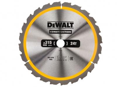 DeWALT DT1961 piła tarczowa do drewna 315mm/24z/30mm