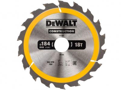 DeWALT DT1941 piła tarczowa do drewna 184mm/18z/30mm