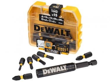 DeWALT DT70577T uchwyt magnetyczny + 15 bity udar