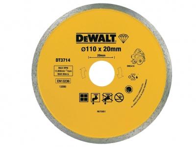 DeWALT tarcza diamentowa glazura 110/20mm