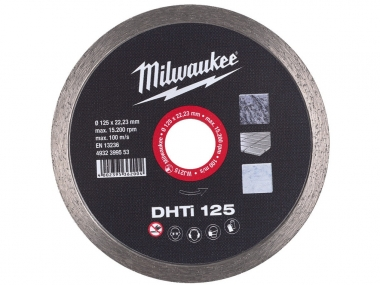 MILWAUKEE tarcza diamentowa gres 125mm