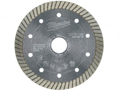 MILWAUKEE tarcza diamentowa beton pełna 125mm