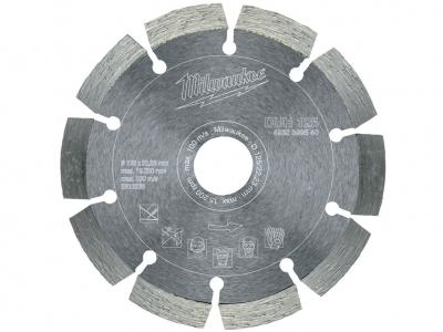 MILWAUKEE tarcza diamentowa segment beton 125mm