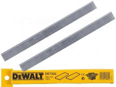 DEWALT noże do grubościówki 260mm kpl. 2szt. D27300