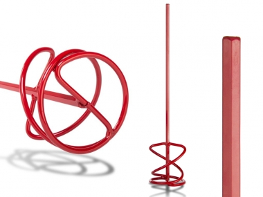 RUBI mieszadło spiralne TYP MR mocowanie/pod uchwyt