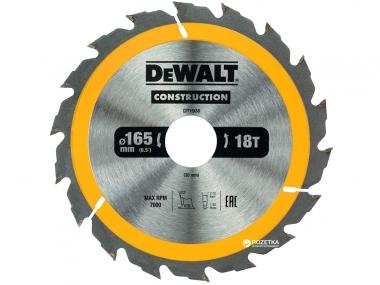 DeWALT DT1936 piła tarczowa do drewna 165mm/18z/30mm
