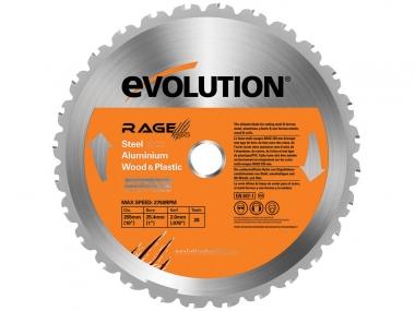 EVOLUTION RAGE 210 MULTI tarcza piła uniwersalna