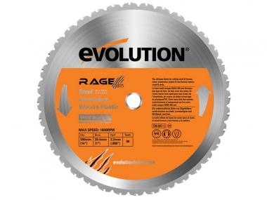 EVOLUTION RAGE 355 MULTI tarcza piła uniwersalna
