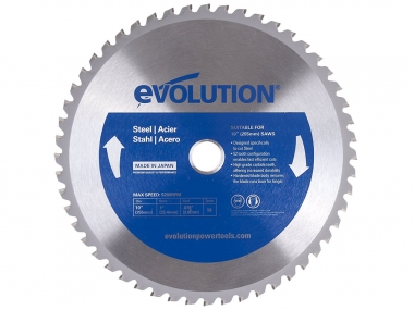 EVOLUTION EVO-255-52-S tarcza piła do stali 255mm