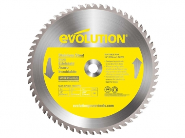 EVOLUTION EVO-355-90-SN tarcza piła do stali INOX