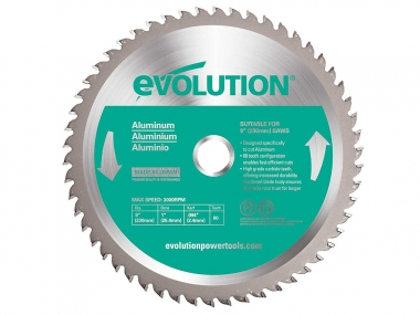 EVOLUTION EVO-230-80-A tarcza piła do aluminium