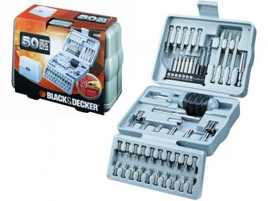 BLACK&DECKER A6988 zestaw wkrętak bity x50