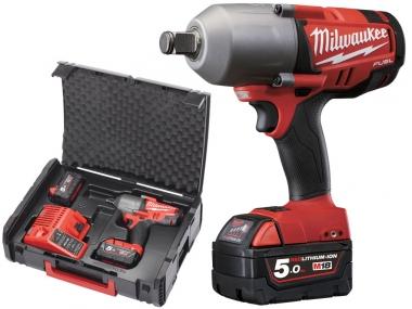 MILWAUKEE M18 CHIWF34-502X klucz udarowy 1016Nm 2x5,0Ah
