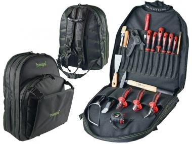 HAUPA 221278 plecak z narzędziami + 19 sztuk narzędzi