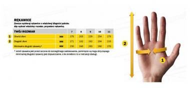 SNICKERS 9595 + 9596 rękawice robocze rozmiary M-XXL