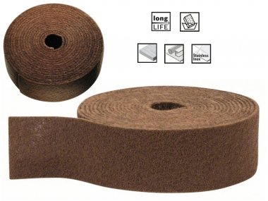 BOSCH włóknina szlifierska 100mm zgrubna rolka/10m