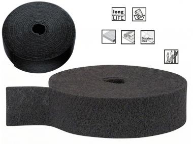BOSCH włóknina szlifierska 100mm średnia rolka/10m