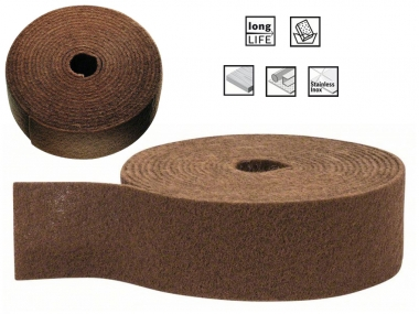 BOSCH włóknina szlifierska 115mm zgrubna rolka/10m