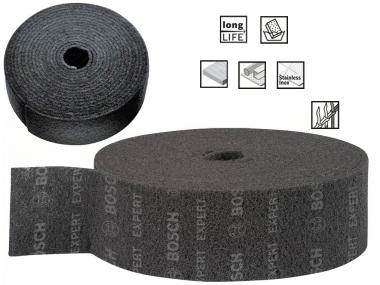 BOSCH włóknina szlifierska 115mm średnia rolka/10m