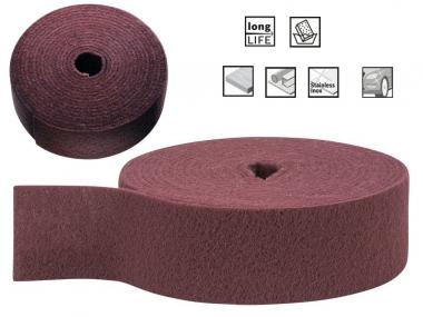 BOSCH włóknina szlifierska 115mm drobna rolka/10m