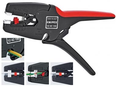 KNIPEX 1242195 szczypce izolacji automat 0,03-10mm
