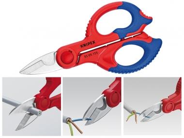 KNIPEX 9505155 SB nożyce nożyczki do kabli