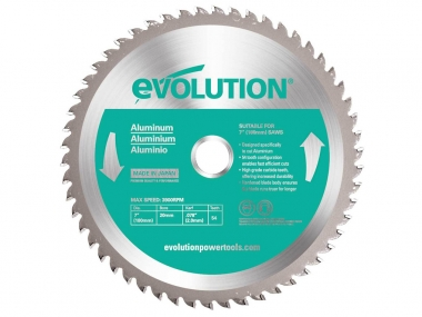 EVOLUTION EVO-180-54-A tarcza piła do aluminium