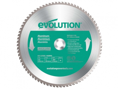 EVOLUTION EVO-355-80-A tarcza piła do aluminium