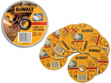 DEWALT DT42340TZ tarcza korundowa metalu 125mm x10 puszka