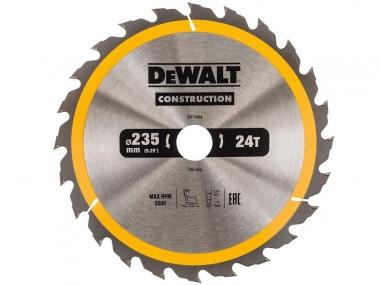 DeWALT DT1954 piła tarczowa do drewna 235mm/24z/30mm