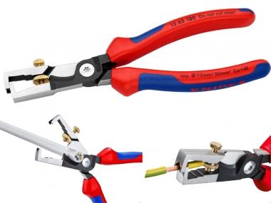 KNIPEX 1362180 szczypce nożyce do kabli izolacji 180mm