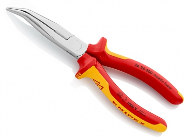 KNIPEX 2626200 szczypce cęgi VDE  wygięte 200mm
