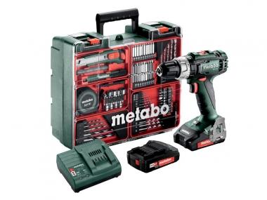METABO SB18L wkrętarka udarowa 50Nm 2,0Ahx2 osprzęt zestaw