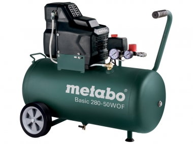 METABO BASIC 280-50 W OF sprężarka bezolejowa 50 L