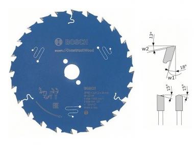 BOSCH Construct tarcza piła do drewna 165mm/24z/20mm