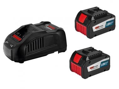 BOSCH GAL1880CV ładowarka 2x akumulator 18V 6,3Ah