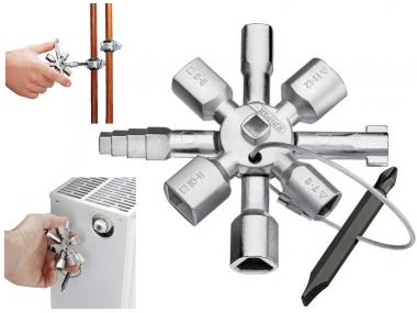 KNIPEX 001101  klucz do szafek rozdzielczych