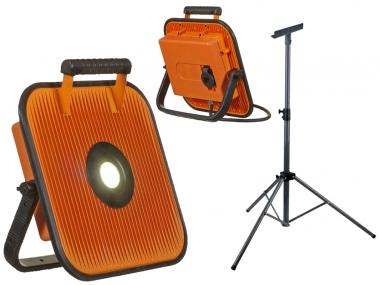 GRUNDA PRO 5500 lampa/głośnik LED Bluetooth 2w1 + statyw