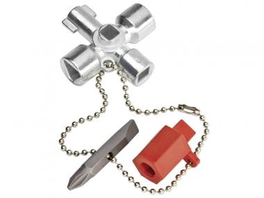 KNIPEX 001102  klucz do szafek rozdzielczych