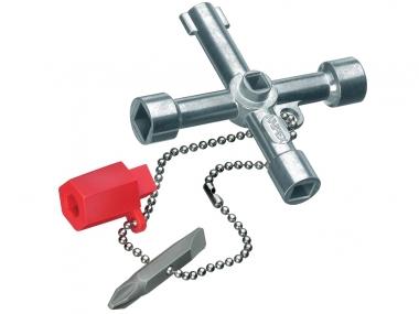 KNIPEX 001103  klucz do szafek rozdzielczych
