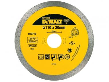 DeWALT DT3715 tarcza diamentowa beton 110/20mm
