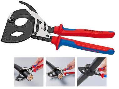KNIPEX 9532320 nożyce ręczne do kabli Cu/Al 60mm
