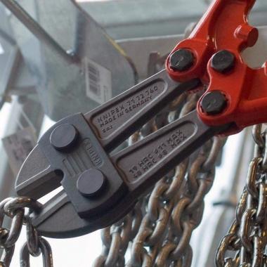 KNIPEX 7172610 nożyce do prętów rękojeść rurowa 610mm