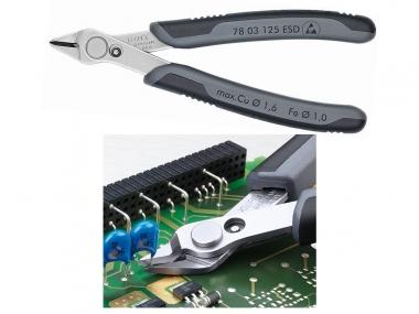 KNIPEX Electronic 7803125ESD szczypce tnące 125mm